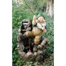 Gnom fishing Fountain